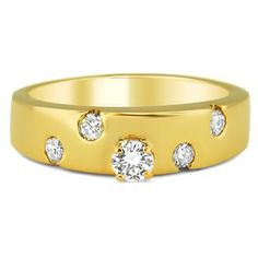 14K Yellow Gold The Somers Ring