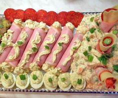 Kaszinótojás és tormakrémes sonkatekercs Recept képpel - Mindmegette.hu - Receptek Yummy Snacks, Snack Recipes, Dessert Recipes, Cooking Recipes, Yummy Food, Antipasto, Oven Vegetables, Homemade Sauerkraut, Healthy Sauces