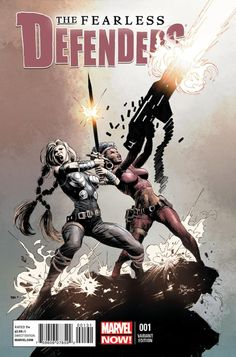 The Fearless Defenders #1 Variant - (comic book issue) - Comic Vine