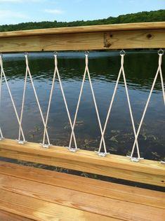 Resultado de imagen de diy rope railing
