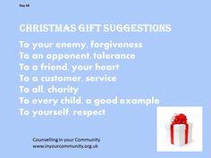 Christmas gift suggestion