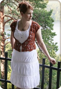 juttapaulina: short and sweet vest