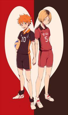 Kenma and Hinata   Haikyuu!!