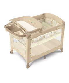 I love Zulily, I just about bought one off Kijiji for the same price as this new one! Take a look at this InGenuity Bella Vista SleepEasy Play Yard by Happy Nursery: Gear & Essentials on @zulily today!