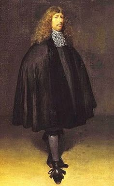 Gerard Terborch (Dutch Baroque Era Painter, 1617-1681) Self Portrait 1666