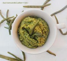 Easy Vegan: Patè profumato di fagiolini verdi