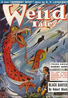 Weird Tales Magazine issue from 1943.