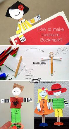 How+to+make++Icecream++Bookmark?