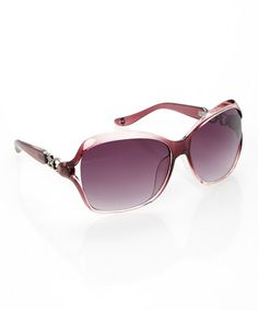 Another great find on #zulily! Wine Link Sunglasses by Jessica Simpson Collection #zulilyfinds