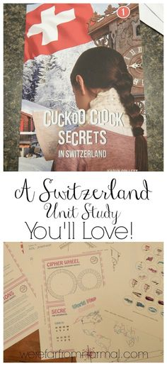 A Switzerland Unit Study You'll Love! – Far From Normal School 2017, Curriculum, Homeschool, Thematic Units, Teaching Reading, Teaching Kids, Teaching History, World Cultures, Swiss Army