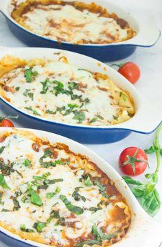 Easy Speedy Blue Cheese Lasagna