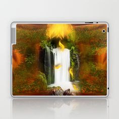 The flower of joy Laptop & iPad Skin by Giada Rossi - $25.00