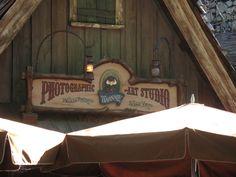 Splash Mountain, Photo Studio sign, Disneyland