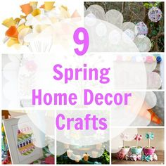 9 Spring Home Décor Crafts