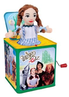 Dorothy Jack in the Box commemorating the 75th Anniversary of the Wizard of Oz. Description from pinterest.com. I searched for this on bing.com/images