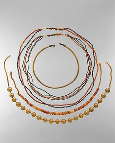 Jewelry of the Child Myt Egyptian, Middle Kingdom, ca. 2051-2030 B.C.
