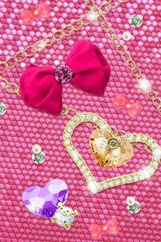 Pink Bling Background Wallpaper Djiwallpaper Co