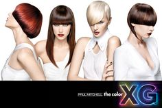 Paul Mitchell the color XG™ The future generation of permanent hair colour