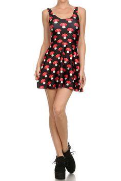Shroom Skater Dress