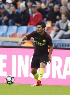Nolito of Manchester City during the Pre-Season Friendly between Arsenal and Manchester City at Ullevi on August 7, 2016 in…