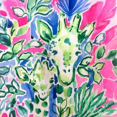 Lilly Pulitzer (@LillyPulitzer) / Twitter Lily Pulitzer Painting, Lily Pulitzer Wallpaper, Lilly Pulitzer Stores, Lilly Pulitzer Prints, Palm Beach Decor, Watercolor Water, Watercolor Animals, Paint And Sip, New Wall