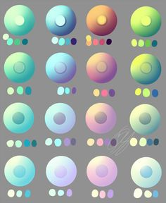 Pastel and non pastel eye swatches. by Overlord-Jinral on DeviantArt Digital Painting Tutorials, Digital Art Tutorial, Art Tutorials, Skin Color Palette, Palette Art, Color Palette Challenge, Pastel Colors, Pastel Pallete, Eye Colors
