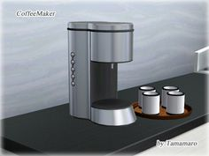 Coffee maker by Tamamaro - Sims 3 Downloads CC Caboodle