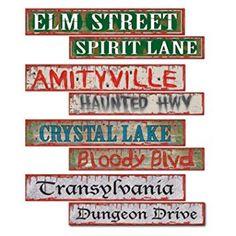 Halloween Street Sig...