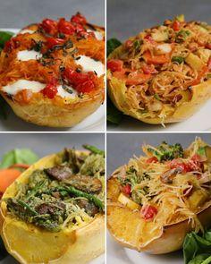Spaghetti Squash 4 Ways | Recipes
