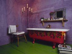 Eclectic small bathroom vanity design 3