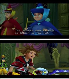Kingdom Hearts II. Ha! KH wouldn't be quite as good without Sora's priceless facial expressions. Lol