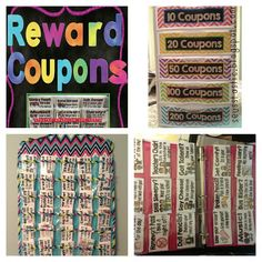 Seusstastic Classroom Inspirations: Classroom Management - warm fuzzies and reward coupons Classroom Rewards, Classroom Behavior Management, 4th Grade Classroom, Kindergarten Classroom, School Classroom, Classroom Ideas, Classroom Economy, Behaviour Management, Future Classroom