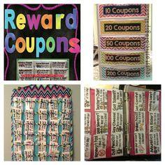 Last quarter survival behavior coupons! Make the last quarter pleasant & positive for your classroom. The kids LOVE these!