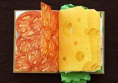 Sandwich Livro POR Paweł Piotrowski | Inspiração Grade | Inspiração
