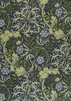 John Henry Dearle, Seaweed wallpaper (1901)