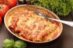 Low-Carb-Cannelloni mit Putenbrust