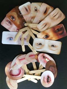 Emotion half masks