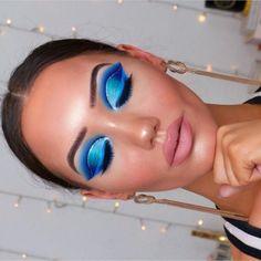 The Best Eyeshadow Looks featuring Jeffree Star's Blue Blood Palette – Beaut… – Makeup Blue Eyeshadow Makeup, Blue Eyeshadow Looks, Blue Makeup Looks, Best Eyeshadow, Eyeliner, Blue Eyeshadow Palette, Colourpop Eyeshadow, Jeffree Star, Creative Eye Makeup