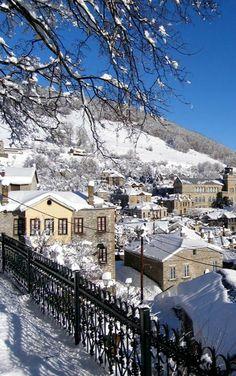 Winter.. Nymfaio Village, Florina, Greece