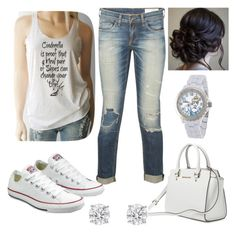 """""""Cinderella """" by parker1126 on Polyvore featuring rag & bone, Disney and Converse"""