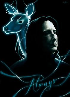 This great man was the very reason I stopped hating Harry Potter and started reading all the books, watching all the movies and ended up loving that fantasy world more than anything. Alan Rickman p...