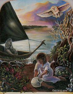 XIII. Death - Ancestral Path Tarot by Julie Cuccia - Watts
