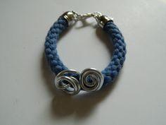Collection MAUMUSSON (9) - bracelet manchette - Pour un Bisou - Fait Maison