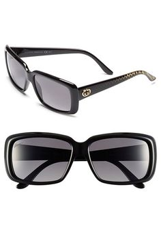 123a24b80613c2 Gucci 57mm Polarized Sunglasses available at  Nordstrom Sunglasses Women  Designer, Stylish Sunglasses, Polarized