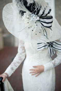 We LOVE this stylized editorial featuring a lace jacket and gown from Anne Barge in Atlanta Weddings Magazine!