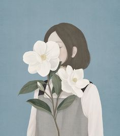 "<p>Korean artist Mi-Kyung Choi, who goes by the nickname ""Ensee,"" creates digital paintings that blend pastel hues and the delicate touch usually accomplished with traditional materials. Her illustrat"