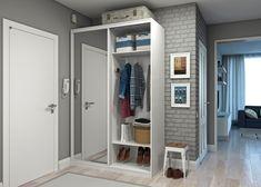 Наполнение шкафа-купе в прихожую, как и его размер, зависит от пожеланий владельцев
