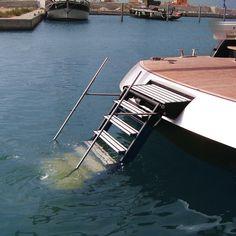 SI 407 Aquarius ladder - Besenzoni Boating Accessories