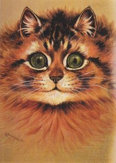 PT1: Louis Wain (5 August 1860 – 4 July 1939) was a schizophrenic artist whose images of cats changed as his mental health deteriorated