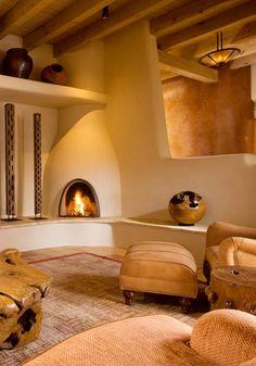 Adobe home interior design ~ David Naylor